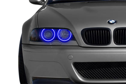 BMW 3-Series w/o OEM HID (99-05): Profile Prism Fitted Halos (Kit)