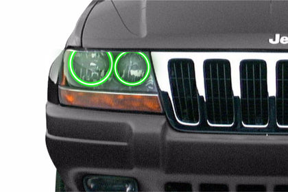 Jeep Grand Cherokee (99-04): Profile Prism Fitted Halos (Kit)