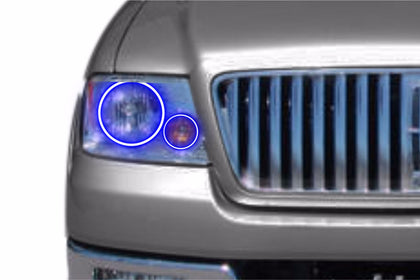 Lincoln Mark LT (06-08): Profile Prism Fitted Halos (Kit)