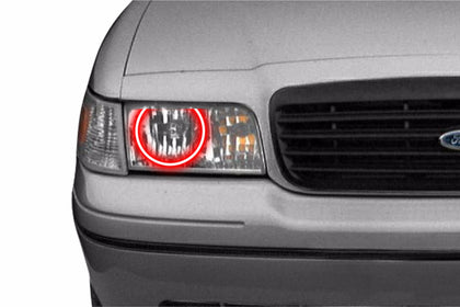 Ford Crown Victoria (98-11): Profile Prism Fitted Halos (Kit)