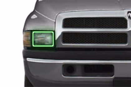 Dodge Ram (94-01): Profile Prism Fitted Halos (Kit)