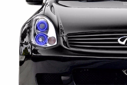 Infiniti G35 Coupe (03-05): Profile Prism Fitted Halos (Kit)