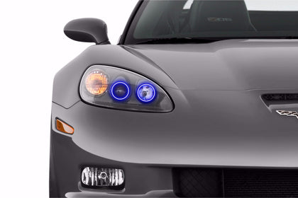 Chevrolet Corvette C6 (05-13): Profile Prism Fitted Halos (Kit)