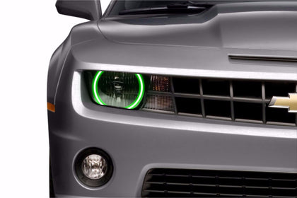 Chevrolet Camaro w/o OEM HID (10-13): Profile Prism Fitted Halos (Kit)