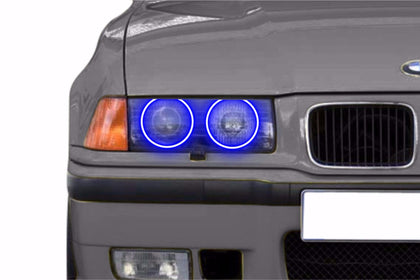 BMW 3 Series (93-99): Profile Prism Fitted Halos (Kit)