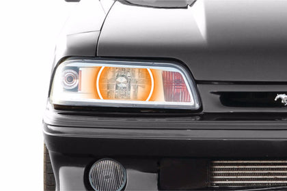 Ford Mustang (87-93): Profile Prism Fitted Halos (Kit)