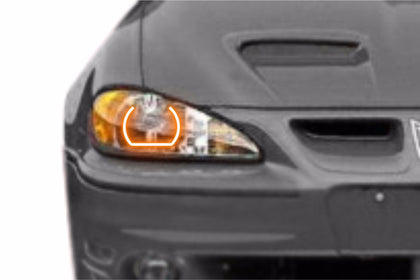 Pontiac Grand Am (99-05): Profile Prism Fitted Halos (Kit)