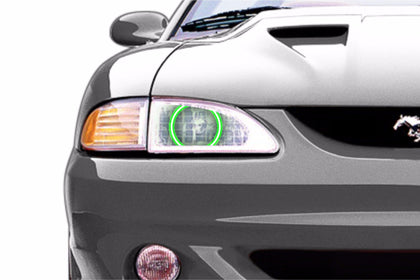 Ford Mustang (94-98): Profile Prism Fitted Halos (Kit)