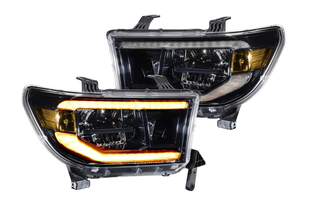 XB LED Heads:   Toyota Tundra (07-13) (Pair / ASM / Amber DRL)