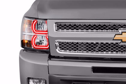 Chevrolet Silverado (07-13): Profile Prism Fitted Halos (Kit)