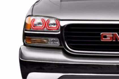 GMC Yukon (00-06): Profile Prism Fitted Halos (Kit)