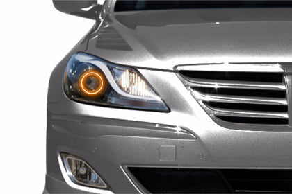 Hyundai Genesis Sedan (09-11): Profile Prism Fitted Halos (Kit)