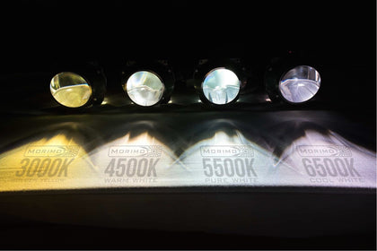 Separate High/Low Headlight Elite HID System