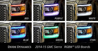 2014-2016 GMC Sierra RGBW DRL LED Boards