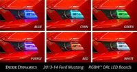 Mustang RGBW DRL LED Boards 13-14 Ford Mustang RGBW DRL LED Boards