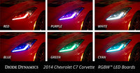 2014-2016 Chevrolet Corvette RGBW LED Boards