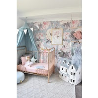 Lullaby Pink I Fitted Cot Sheet