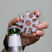 Load image into Gallery viewer, 18 in 1 Snowflake Multi-Tool