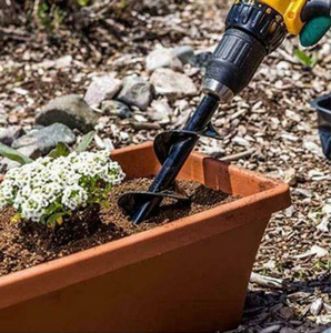 【50% OFF】Garden Drill Planter - Works With Any Drill!