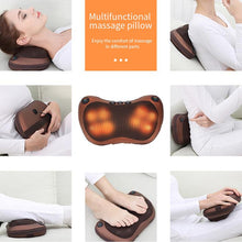 Load image into Gallery viewer, Heated Massage Pillow