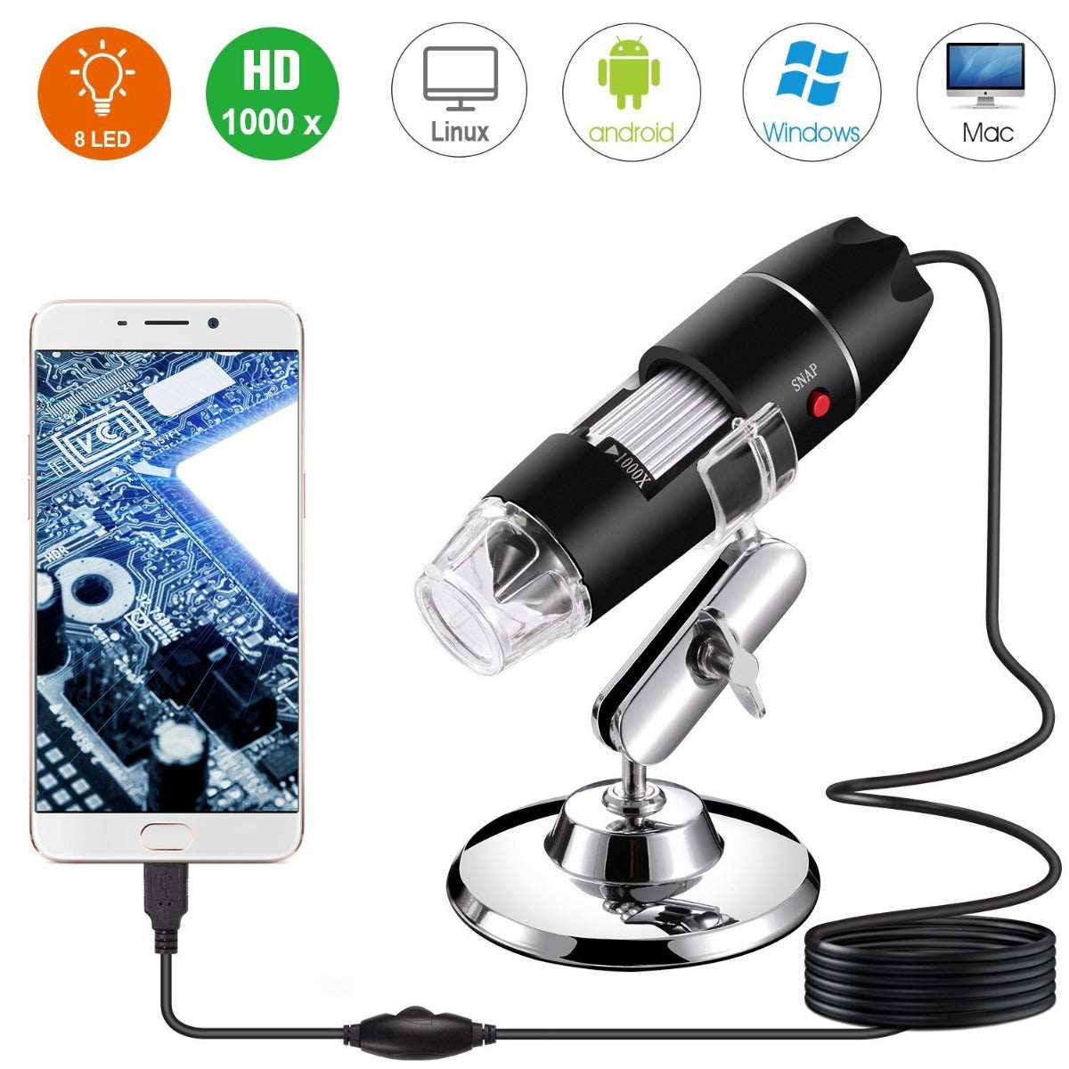 1000x USB Digital Microscope (80% OFF - LIMITED TIME)