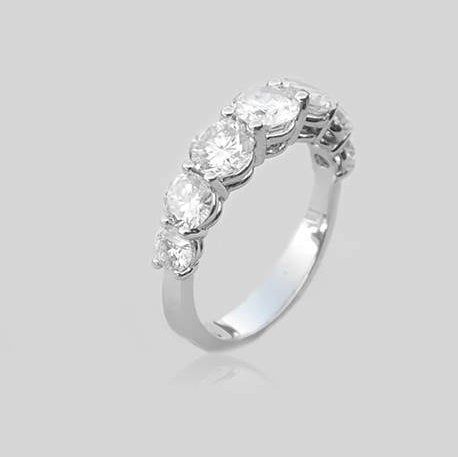 Shira Half Eternity Diamonds Ring