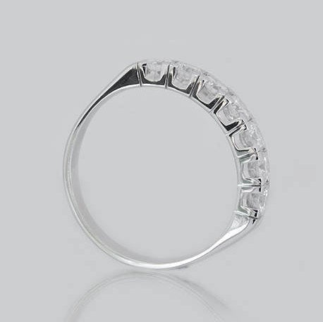 Evelyna Half Eternity Diamond Ring