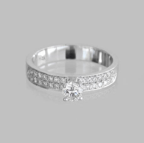 Vanessa Engagement Diamonds Ring
