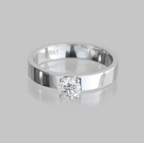 Anita Diamond Solitaire Ring