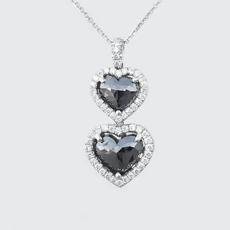 Angelina Heart Diamond Pendant