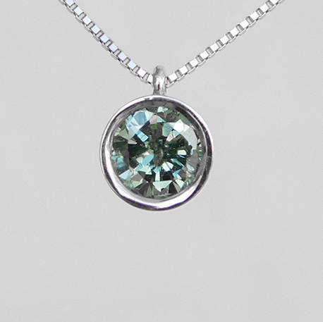 Tammy Diamond Pendant