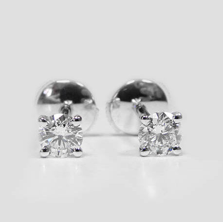 Kim Diamond Stud Earrings