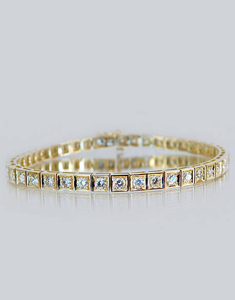 Christine Diamond Tennis Bracelet