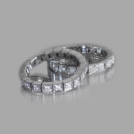 Sarina Flexible Eternity Diamond Ring