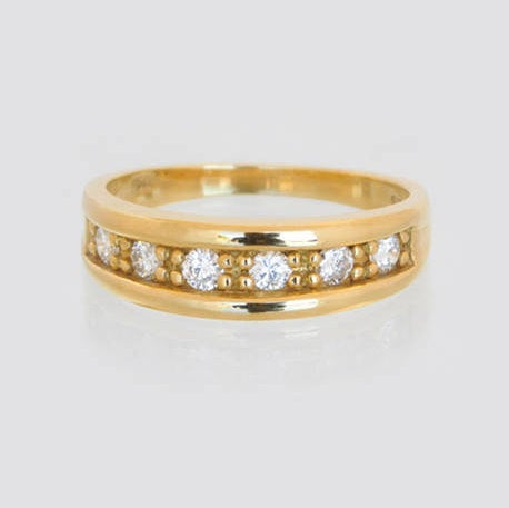 Teresa Half Eternity Diamond Ring