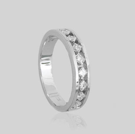 Ella Half Eternity Diamond Ring