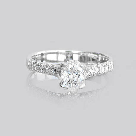 Jennifer Engagement Diamonds Ring