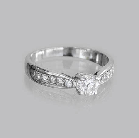 Gabrielle Engagement Diamond Ring
