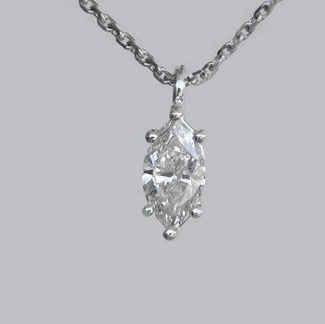 Claire Diamond Gold Pendant
