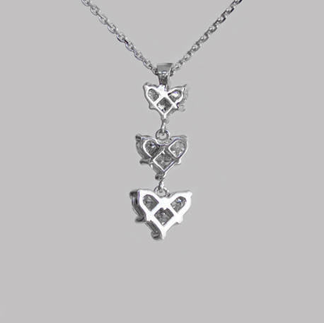 Linda Heart Diamond Pendant