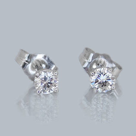 Jill Diamond Stud Earrings