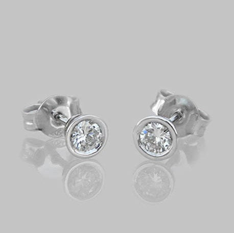 Lesly Diamond Stud Earrings