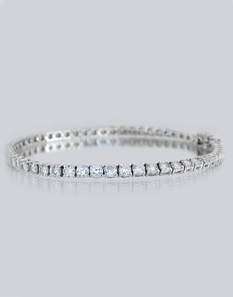 Claudia Diamond Tennis Bracelet