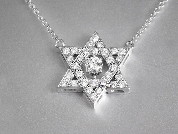 Magnificent Star of David Pendant