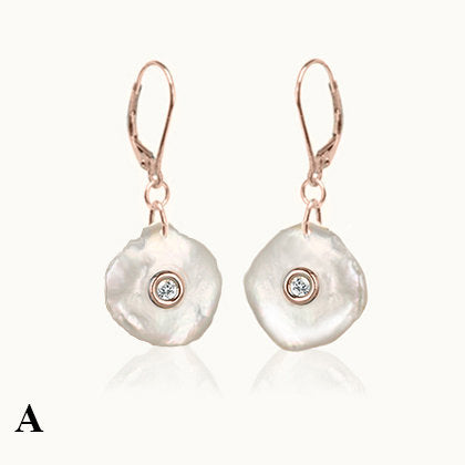 Lake Pearl Dangle Earrings