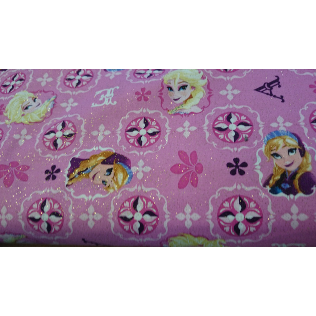 Disney fabric, Elsa and Anna, Frozen 1/2m piece - MadOnSewing