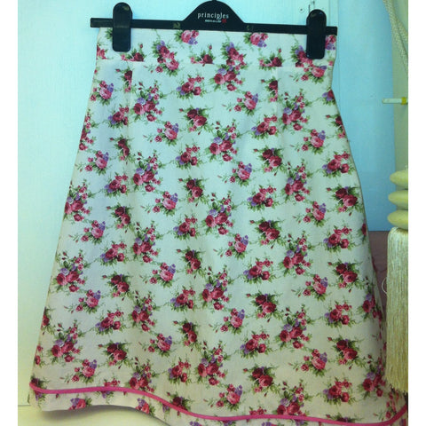 A-line Skirt Sewing Course Saturdays September 23rd and 30th, 2017  10am -4pm