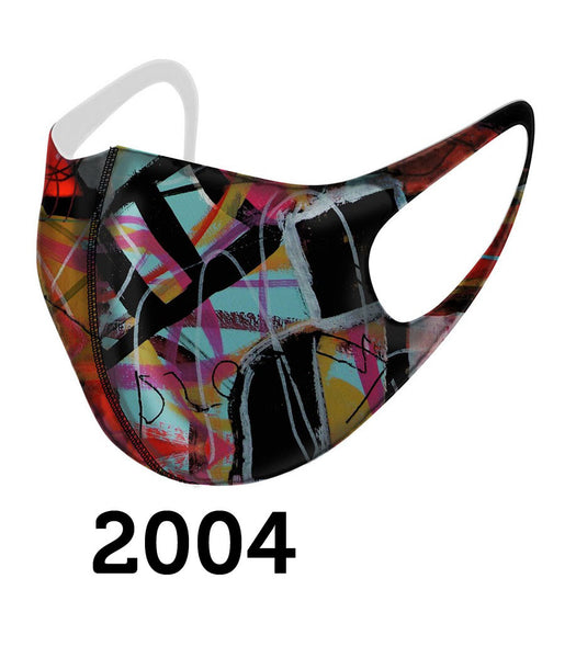 Dolcezza Mask - Multicolor Earthtones - 2004