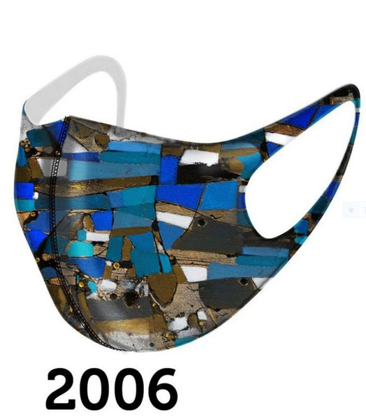 Dolcezza Mask - Multicolor Blue - 2006