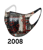 Dolcezza Mask - Black Red White - 2008